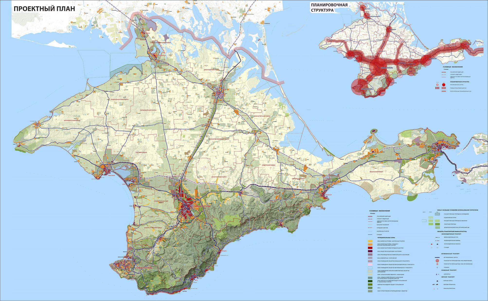 Схема территориального планирования рф применительно к республике крым